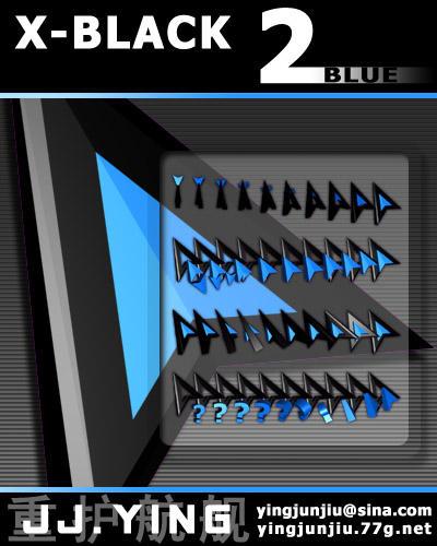 X-BLACK 2 BLUE by JJ-Ying