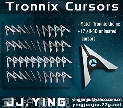 Tronnix Cursors by JJ-Ying