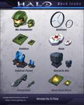 HALO Dock Icons