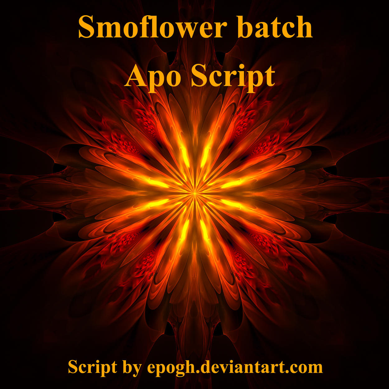 Smoflower Apo script by Epogh