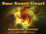SuperSmo Gnarl tutorial Apophysis