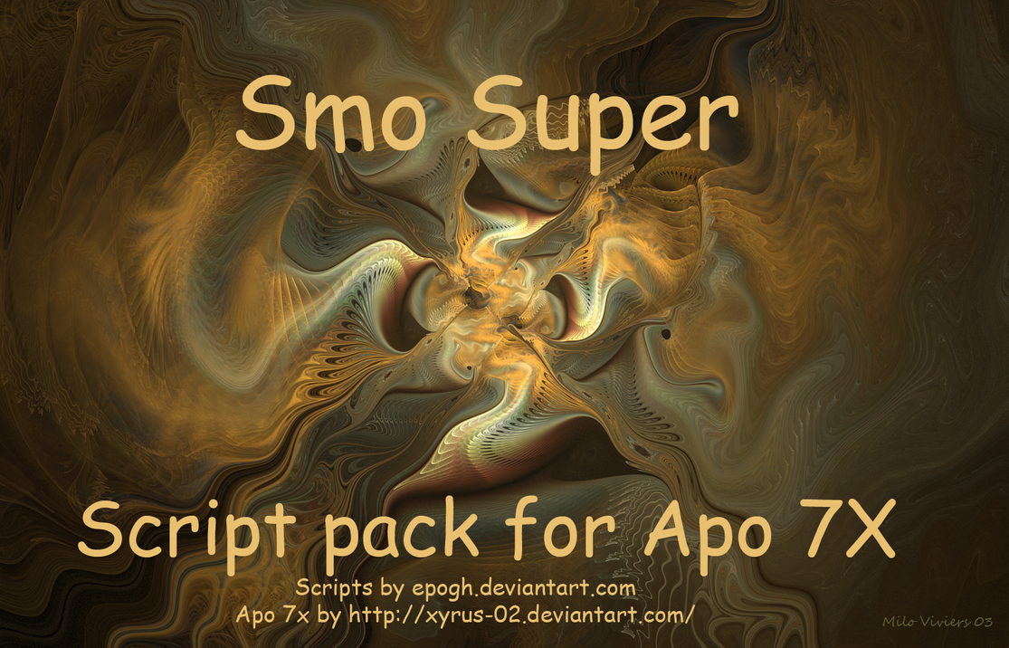 Smo super script pack by Epogh