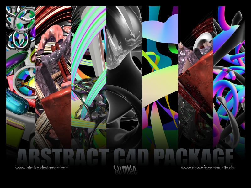 m!ke 1st C4D Pack [ DD] 1st_C4D_Pack_by_aimike