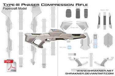 Phaser Rifle Final Pattern by shrakner