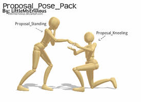 Proposal Pose Pack by TheLazyRulee