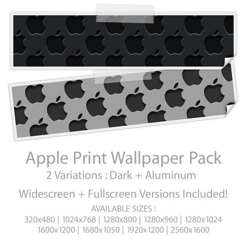 ApplePrint Wallpaper Pack by Nokadota