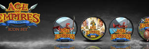 Age of Empires Online Orb Icon Set