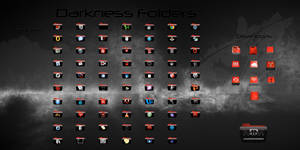 Darkness Folders for OSX (Full Icon Set)