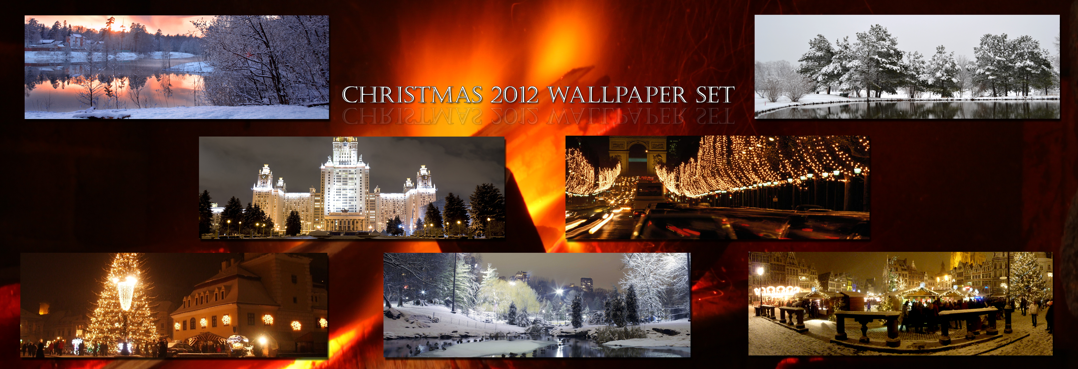 Christmas Wallpaper Set