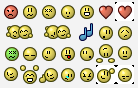 Emoticons Pack 1 by Nimphious