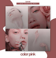 COLOR PINK | PSD Coloring #23