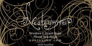 Noctourne's Swirl Brush Set by Aquae