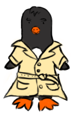 Transition Gif Badass Pinguin Ludum Dare 29 by Kerropi