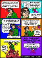 Cephalotaur Comic