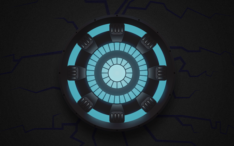gallery for iron man arc reactor iphone wallpaper