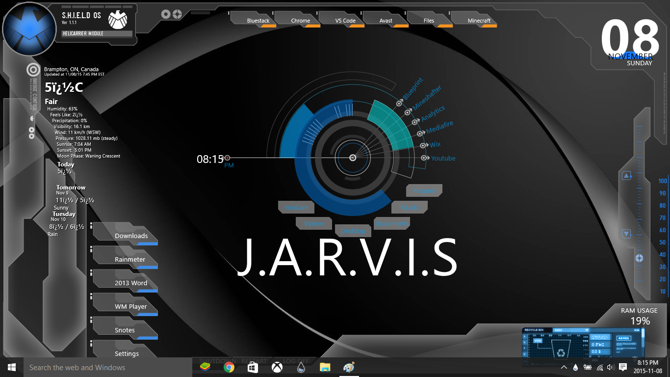 J.a.r.v.i.s 2.0 by awesomeozzy