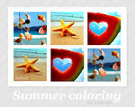 Summer coloring