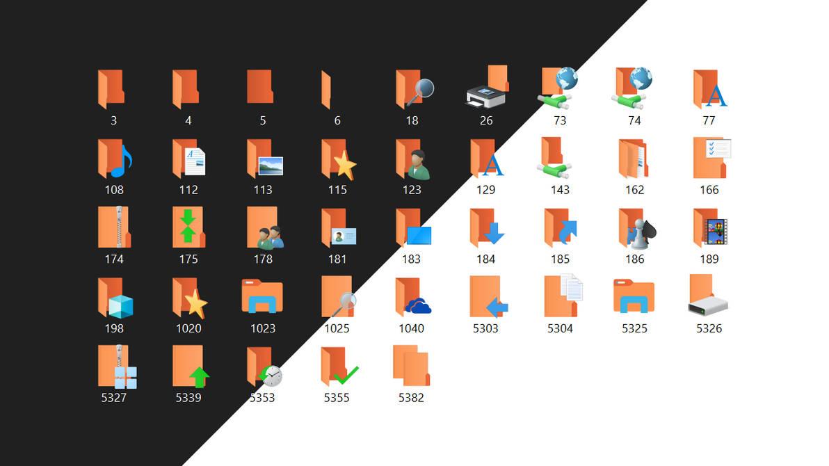 Win10 Natural iPacks: Ubuntu Orange
