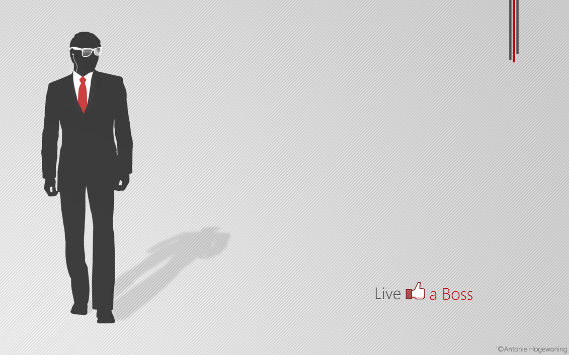 Live Like A Boss By ArticaGFX