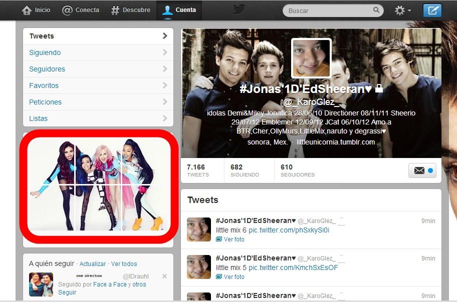 Banner para twitter Little Mix by karoglez