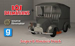[SFM/GMOD Model] Jasper and Horace's Truck by YanPictures