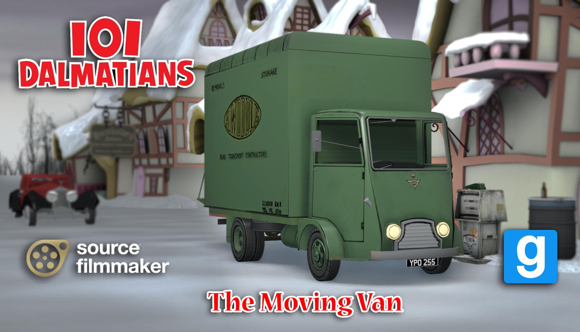 SFM/GMOD Model] The Moving Van by YanPictures on DeviantArt