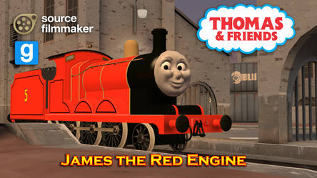 [SFM/GMOD Model] James The Red Engine