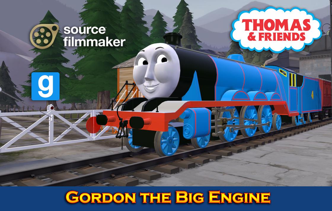 Sfm Gmod Model Gordon The Big Engine By Yanpictures On Deviantart