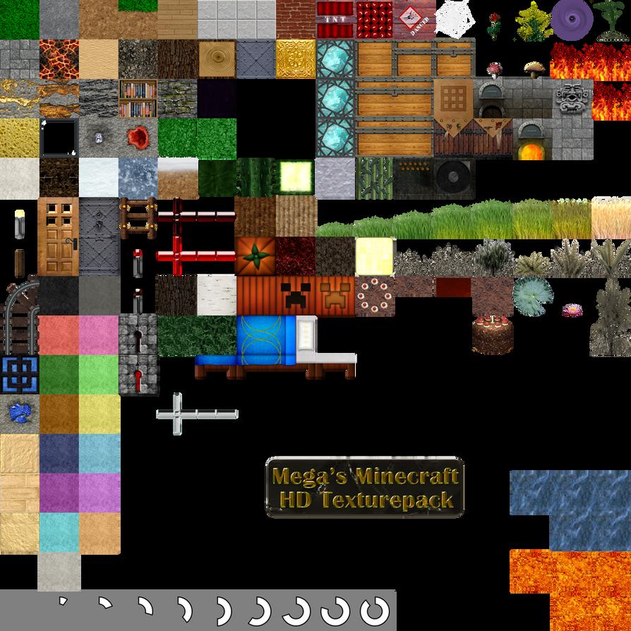 Mega Minecraft HD Texturepack by l-Mega-l on DeviantArt