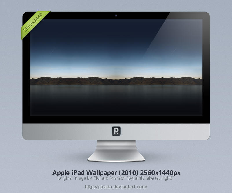 Apple iPad Wallpaper 2560x1440 by pixada