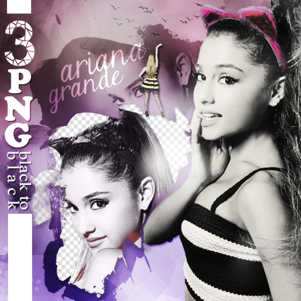 Download Ariana Grande Thank You: Ariana Grande PNG Pack (35) By EdaOran On DeviantArt