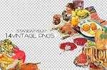 14 Vintage Pngs