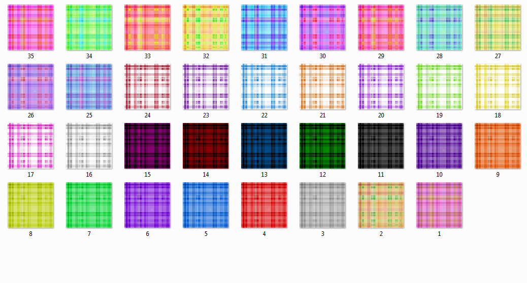 Plaid Texture Pack -DL- by Voca-Chan