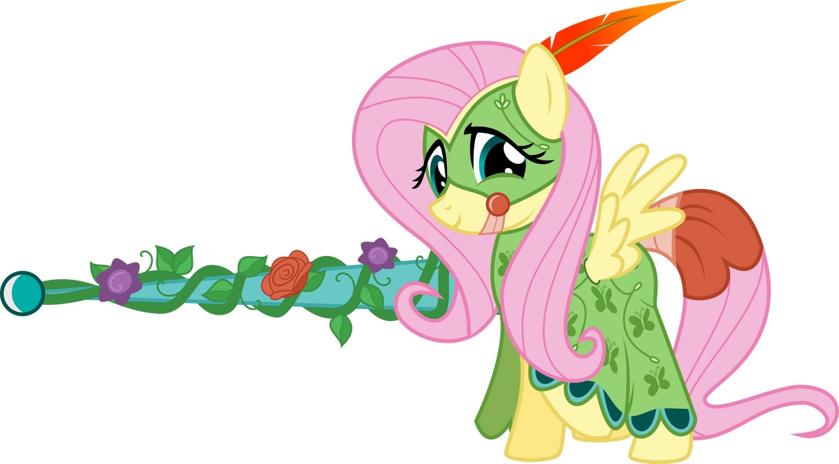 Fluttershy: Apparently DOES like jousting! by xenoneal