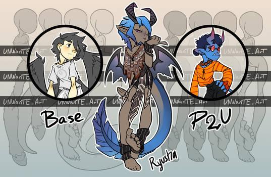 (P2U) Base - Human and Anthro type