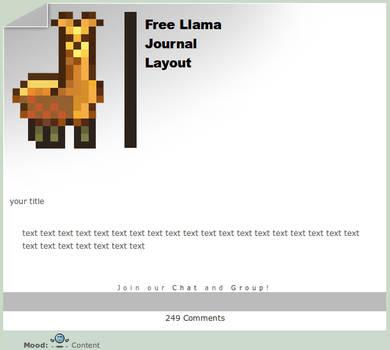 Free Llama Journal