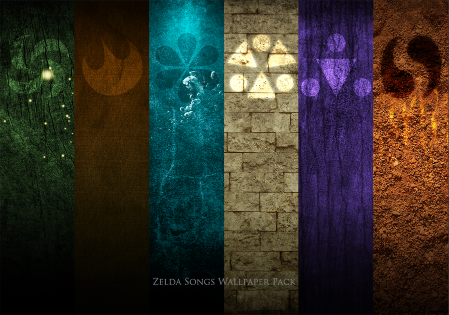 Zelda Songs Wallpaper Pack by paridox on DeviantArt