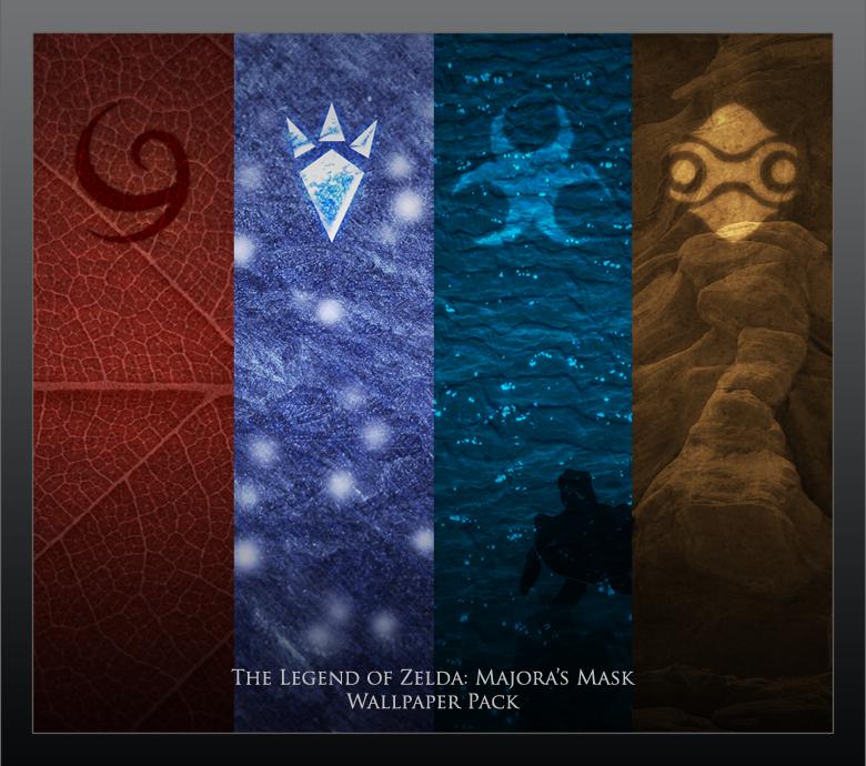 Majoras Mask Wallpaper Pack By Paridox On Deviantart