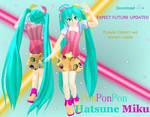 MMD PonPonPon Hatsune Miku DL