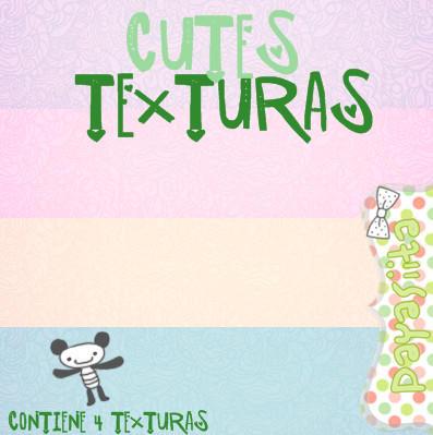 Cutes Texturas by Payasiita