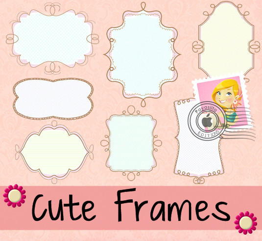 Cute Frames by Payasiita