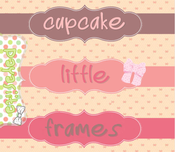 Cupcake Little Frames by Payasiita