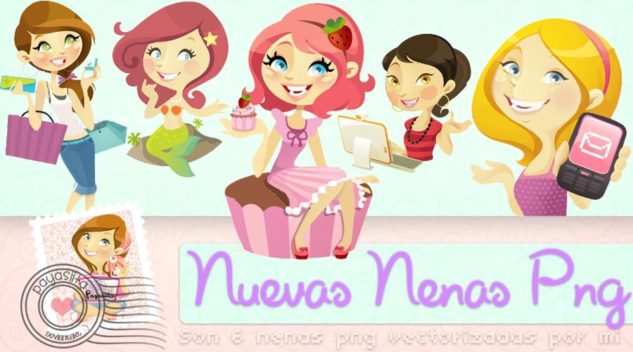 Nuevas Nenas Png by Payasiita