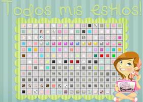 Todos Mis Estilos! by Payasiita