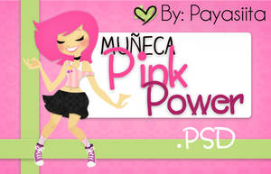 Girl~PinkPower by Payasiita