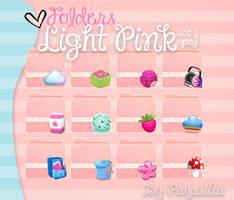 Folders Light Pink by Payasiita