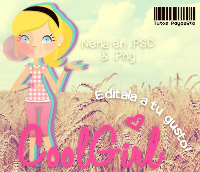 CoolGirl~PSD by Payasiita
