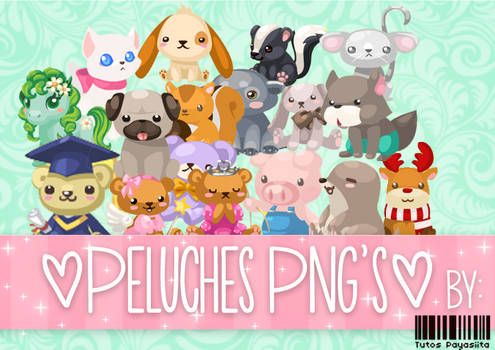 Peluches Png's