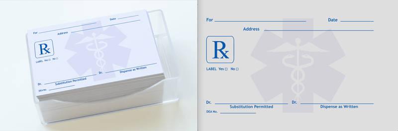 Rx Prescription Pad
