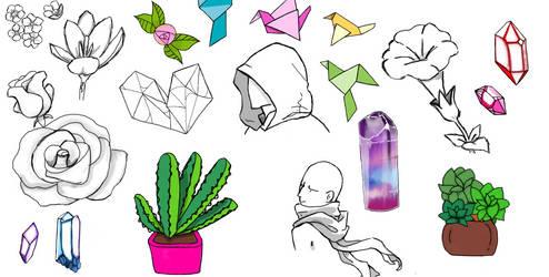 Sketch Dump #1 by SystemFailureX